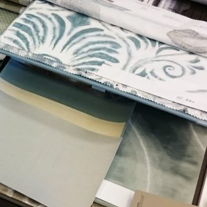 Scheuber Materialcollage Innenarchitektur