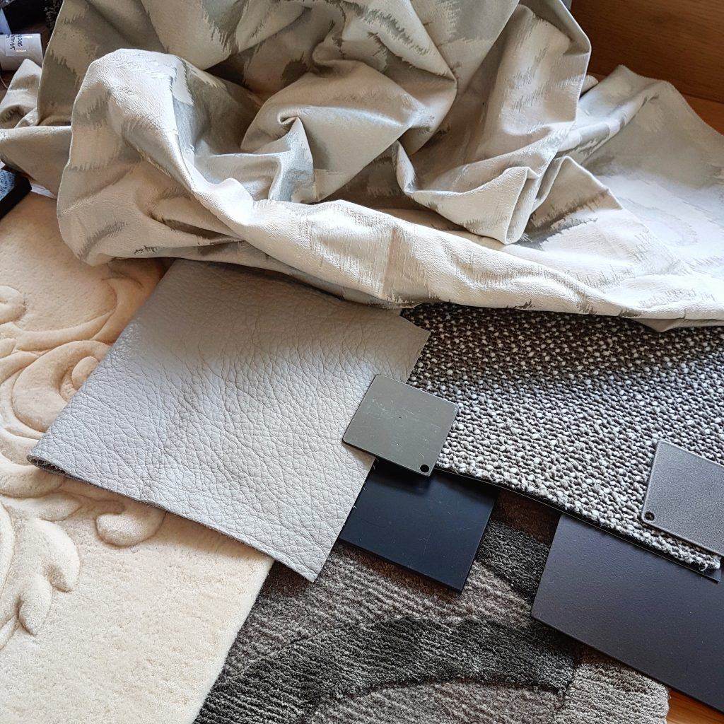 Scheuber Zollikon Materialcollage