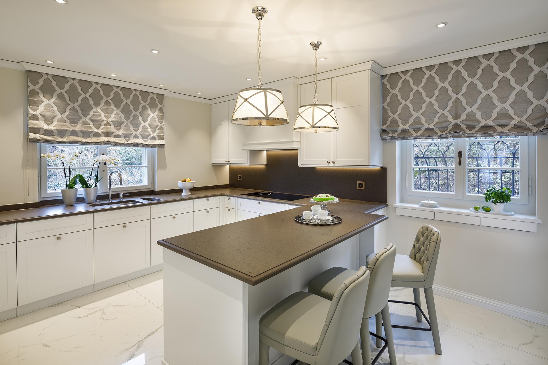 Zollikon Scheuber Küche Vorhänge Beleuchtung Zimmer und Rhode