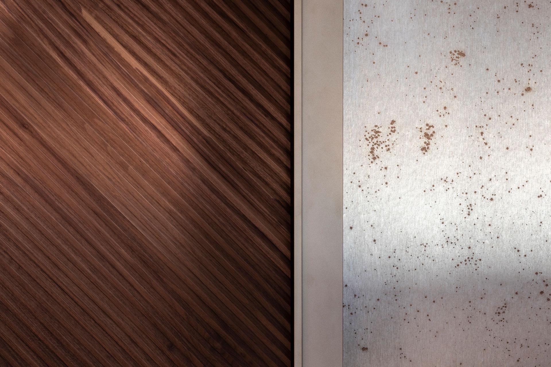 Scheuber Innenarchitektur Materialien Arte Tapeten Boiserie