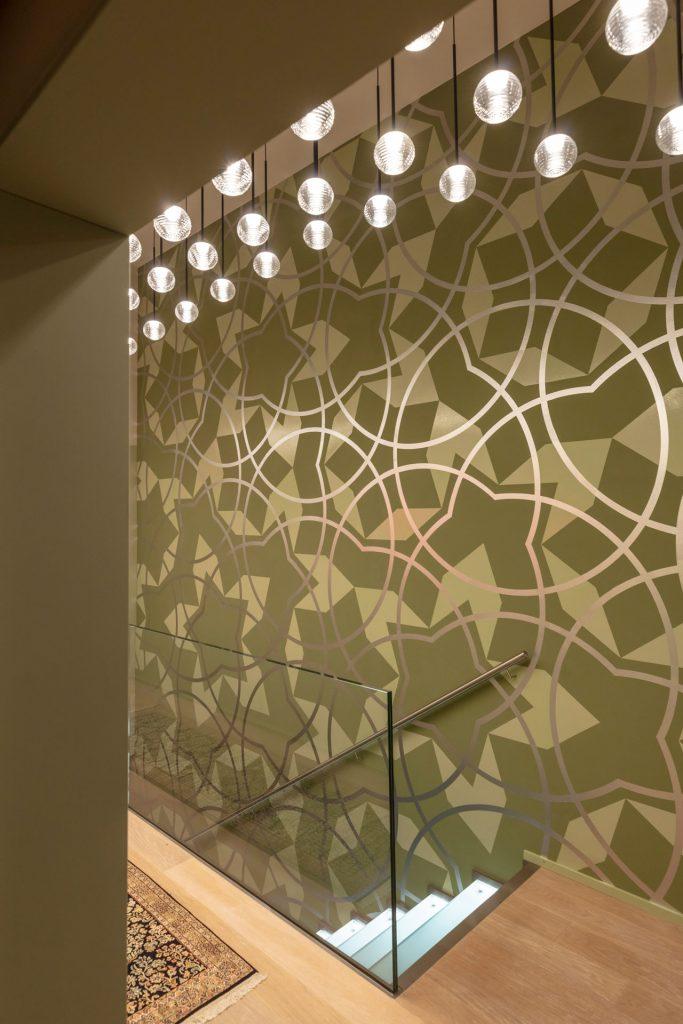 Scheuber Innenarchitektur Wandbemalung Penrose Tiling