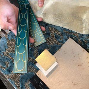 Scheuber Innenarchitektur Materialien