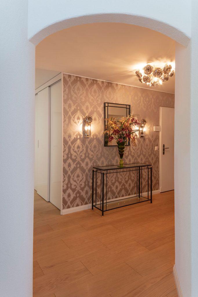 Scheuber Wandbespannung Handwerk Polsterei Innenarchitektur