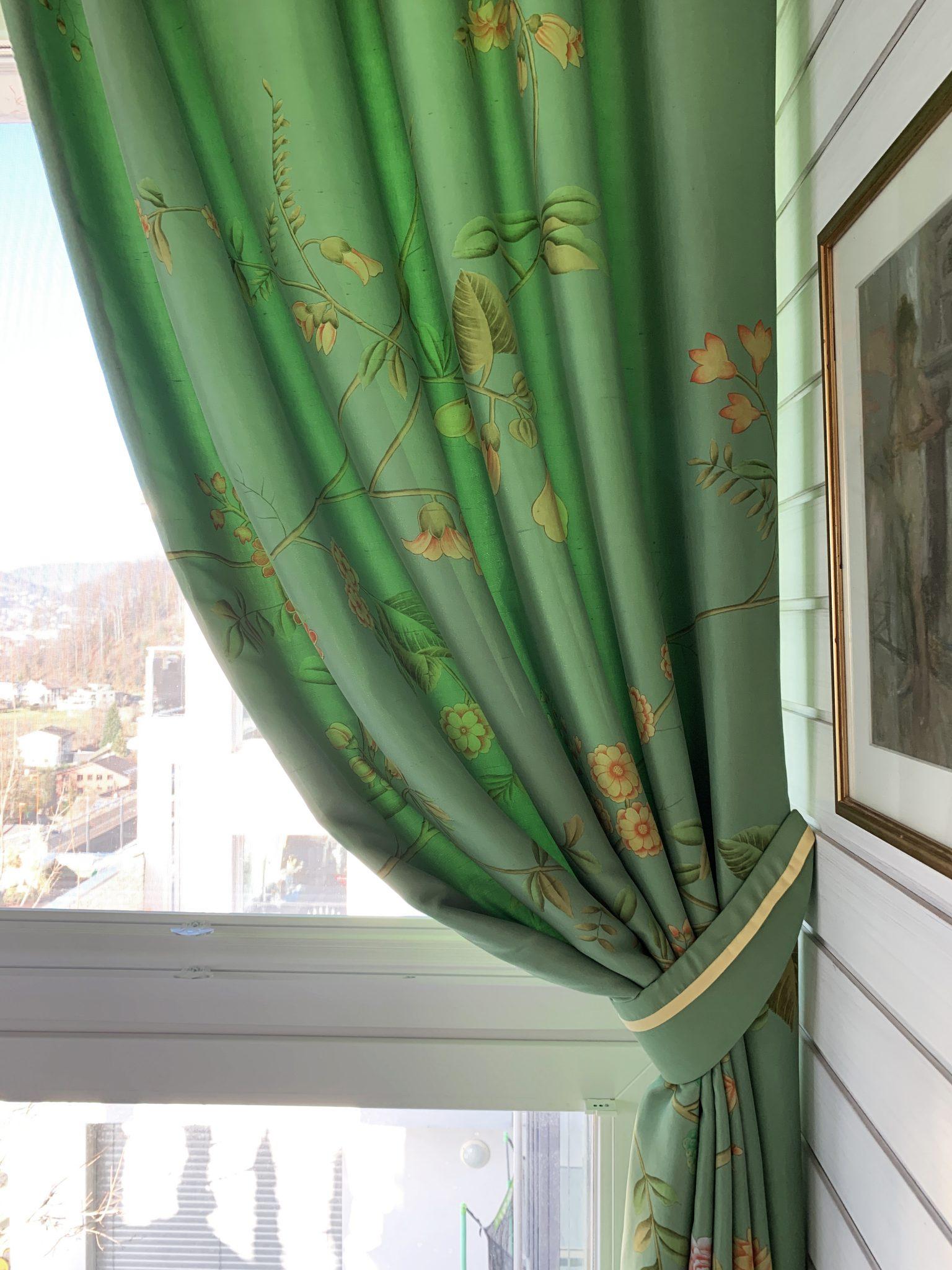 Scheuber Vorhänge Dekoration DeGournay