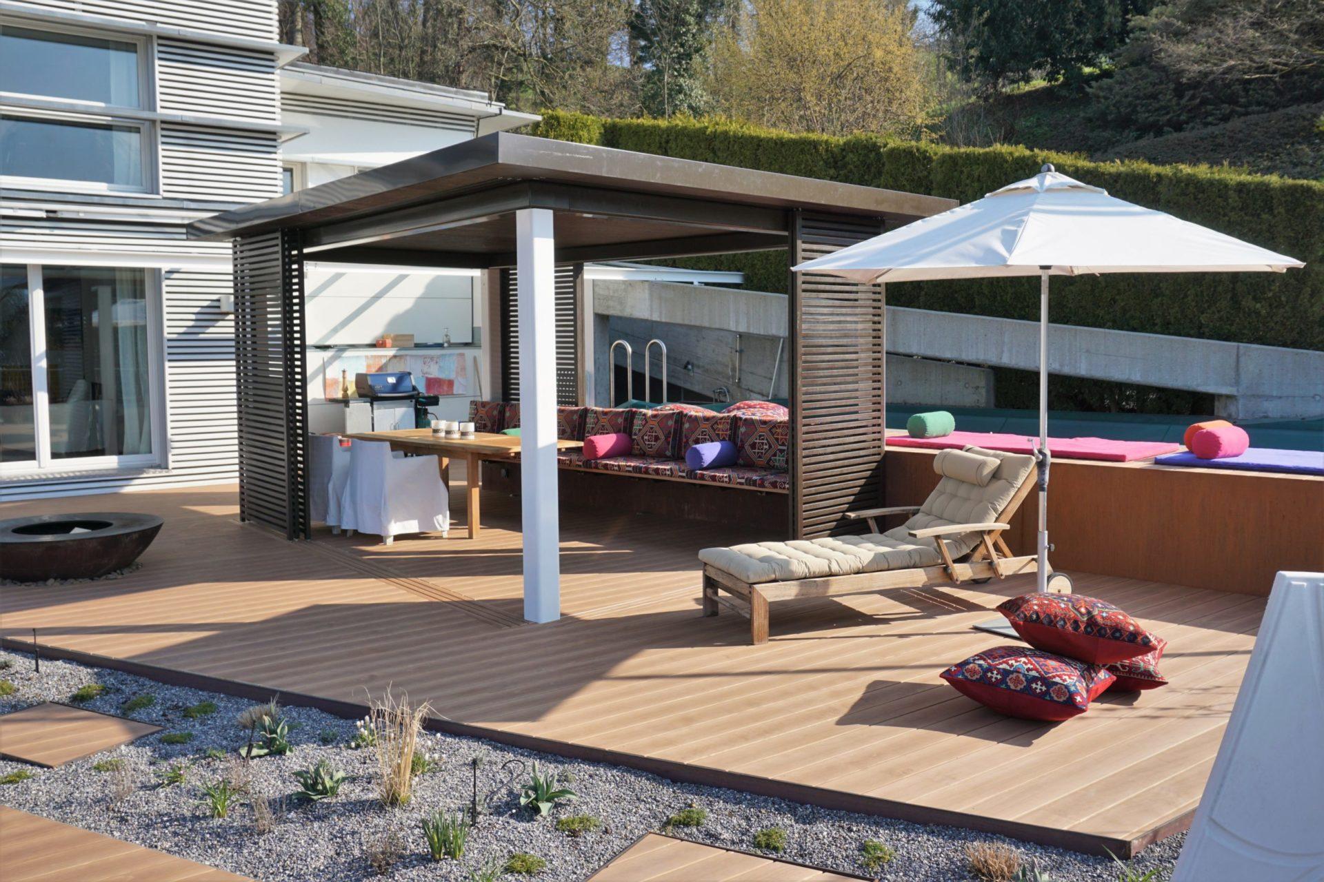Gartenarchitektur Polsterkissen Scheuber AG